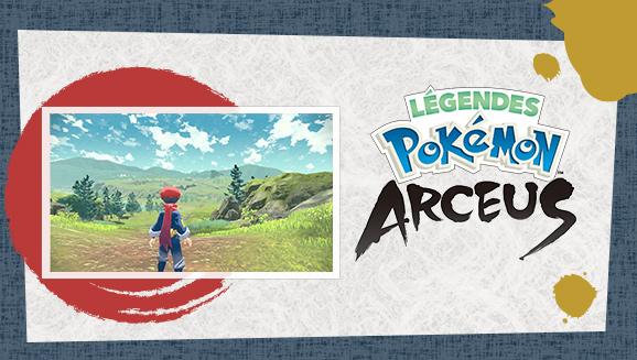 Explorez le passé de Sinnoh avec Légendes Pokémon : Arceus
