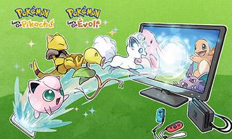 Plus d'information sur la connexion entre Pokémon GO et la Nintendo Switch