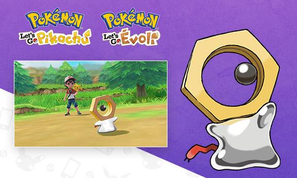 Rencontrez un nouveau Pokémon mystérieux: Meltan!
