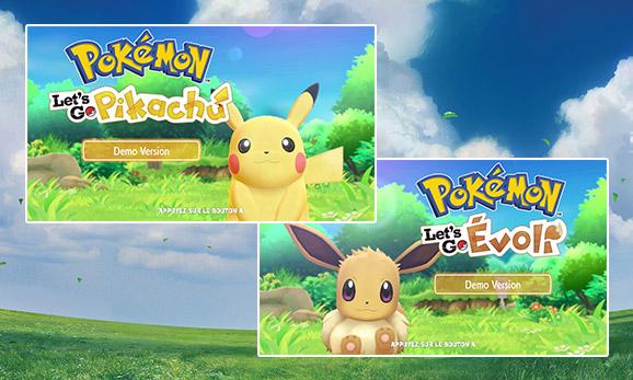 Découvrez la version démo de <em>Pokémon: Let's Go, Pikachu</em> et <em>Pokémon: Let's Go, Évoli</em>!