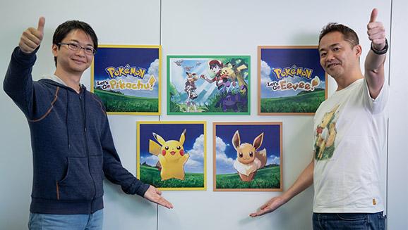 Rencontre avec les créateurs de Pokémon : Let's Go, Pikachu et Pokémon : Let's Go, Évoli !