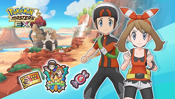 Rejoignez l'équipe de Hoenn dans Pokémon Masters EX