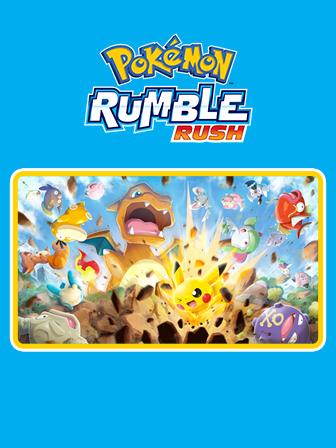 Pokémon Rumble Rush arrive sur appareils mobiles !