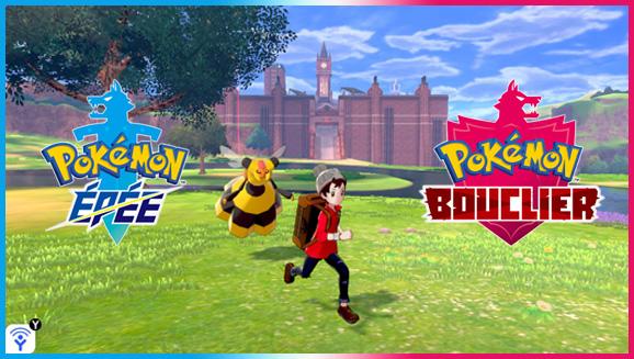 Aventurez-vous dans la nature de Pokémon Épée et Pokémon Bouclier!