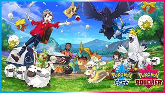 De nouveaux Pokémon à Galar et de nouvelles fonctionnalités révélées