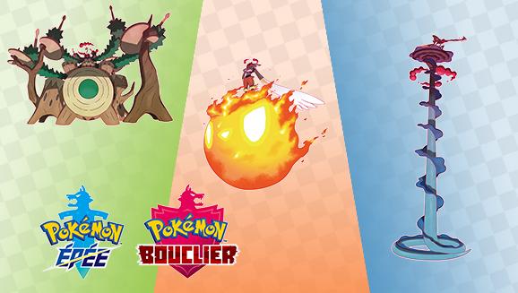 Les Pokémon de départ se gigamaxent!