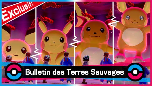 Une horde de Pikachu apparaît dans les raids Dynamax !