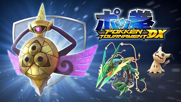 De nouveaux Pokémon font leur entrée dans <em>Pokkén Tournament DX</em>!