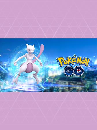 Le Pokémon légendaire Mewtwo apparaît !