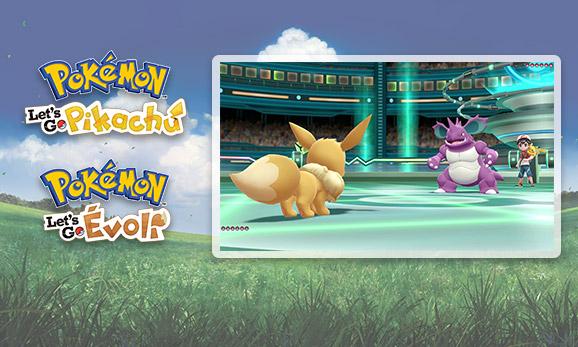 Soyez fin prêt pour les combats de <em>Pokémon: Let's Go, Pikachu</em> et <em>Pokémon: Let's Go, Évoli</em>!