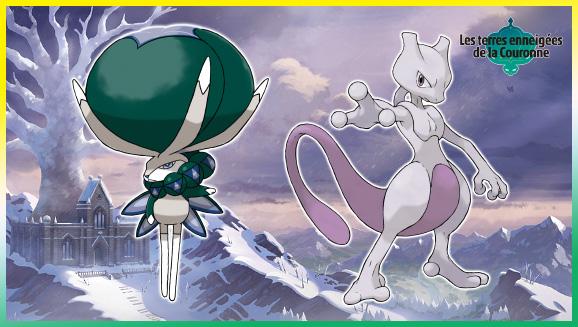 Tirez le maximum des Pokémon légendaires présents dans Les terres enneigées de la Couronne