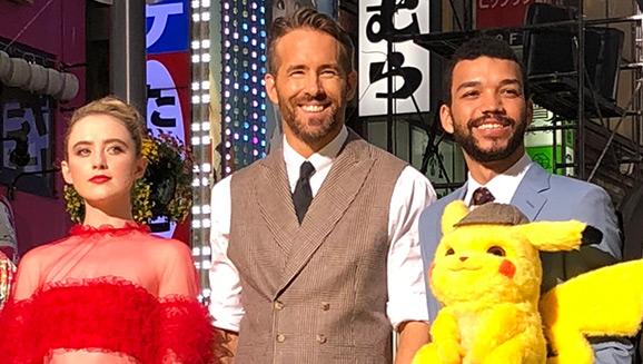 À la rencontre des étoiles pour la première de POKÉMON Détective Pikachu