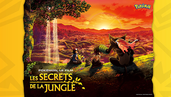 Pokémon, le film : Les secrets de la jungle arrive sur Netflix