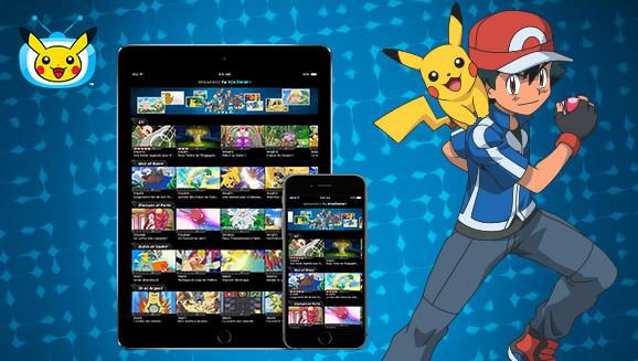 Téléchargez l'application <em>TV Pokémon</em> mise à jour!