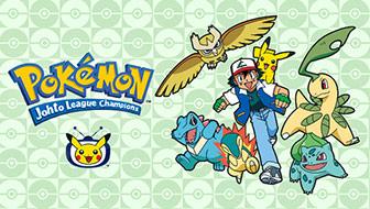 Les aventures à Johto prennent le cap de TV Pokémon