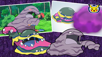 Grotadmorv et Grotadmorv d'Alola sont crasseux à souhait sur TV Pokémon