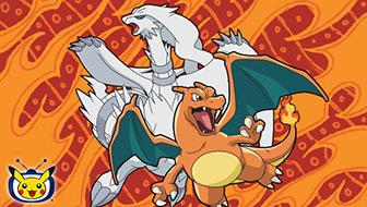 Reshiram et Dracaufeu illuminent TV Pokémon