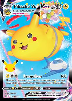 Pikachu Volo VMAX