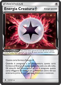 Energia Creatura stella prisma