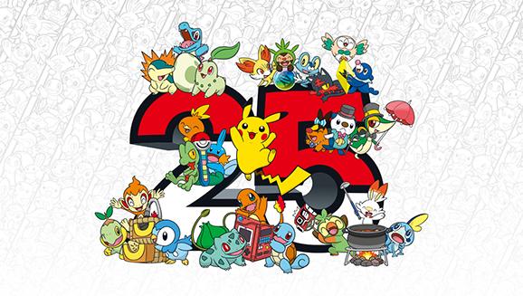 Festeggia i 25 anni di Pokémon