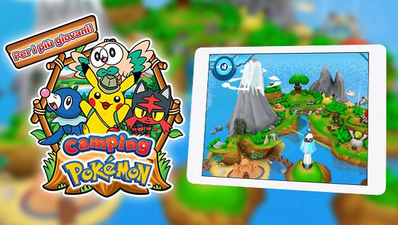 Una nuova stagione al Camping Pokémon!