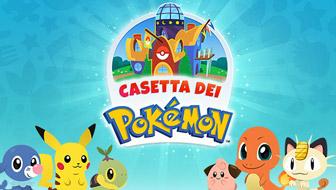 La Casetta dei Pokémon ti dà il benvenuto!