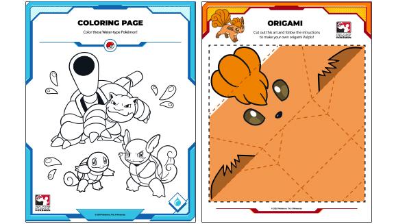 Attività divertenti per bambini targate Pokémon