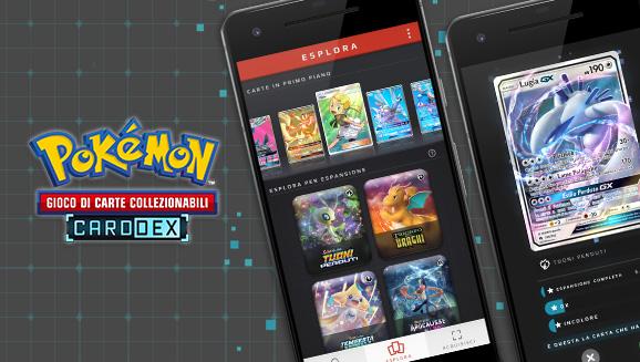 CardDex del Gioco di Carte Collezionabili Pokémon