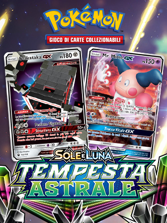 Nuovi Pokémon-GX irrompono sul campo