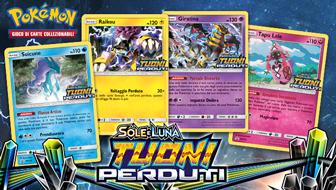 Gioca d'anticipo con gli eventi prerelease dell'espansione Sole e Luna - Tuoni Perduti!