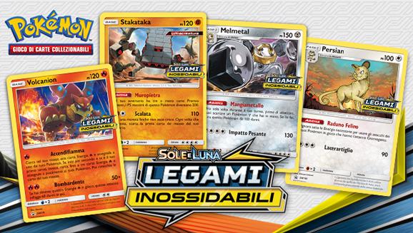 Con i tornei prerelease, sarai tra i primi a mettere le mani sulle carte dell'espansione Sole e Luna - Legami Inossidabili