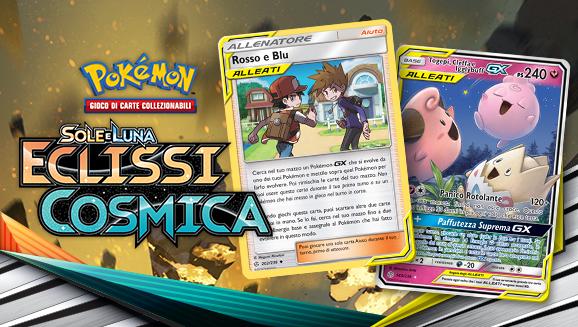 Nuove carte del GCC Pokémon dalla potenza cosmica
