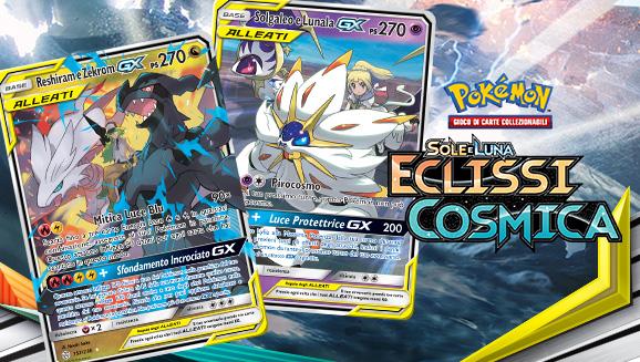 Allenatori e Pokémon uniti nell'Eclissi Cosmica
