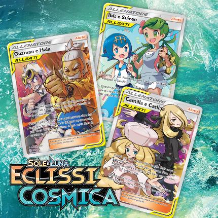 Carte Aiuto ALLEATI di cosmica potenza eclisseranno gli avversari