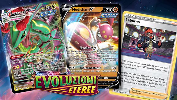 Passa al prossimo livello con le potenti carte di Spada e Scudo - Evoluzioni Eteree