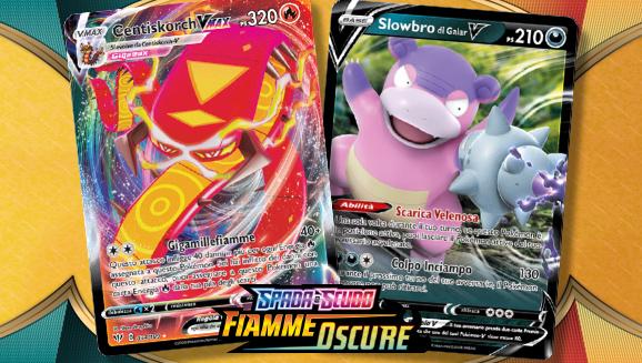 Scopri i nuovi Pokémon-V e Pokémon-VMAX