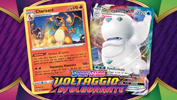 Charizard e tanti altri Pokémon ti aspettano in Spada e Scudo - Voltaggio Sfolgorante