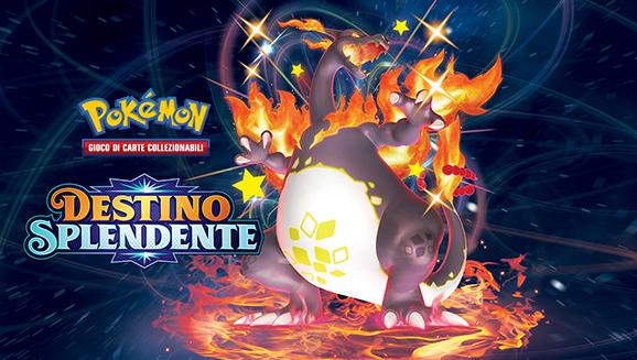 Tanti Pokémon cromatici ti aspettano nell'espansione Destino Splendente