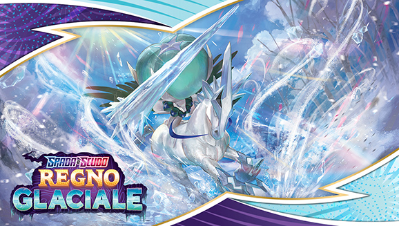 L'atmosfera si fa gelida con la nuova espansione Spada e Scudo - Regno Glaciale del GCC Pokémon