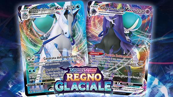 Congela i tuoi avversari con le carte dell'espansione Spada e Scudo - Regno Glaciale del GCC Pokémon