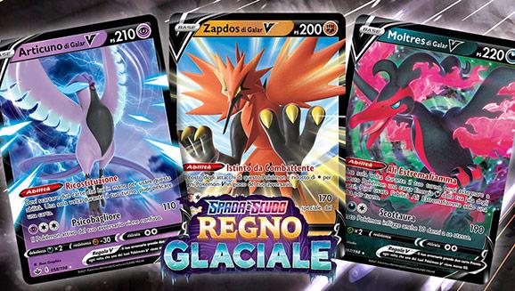 Ecco i Pokémon leggendari e misteriosi dell'espansione Spada e Scudo - Regno Glaciale