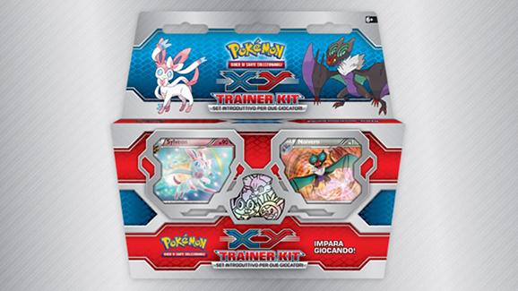 Trainer kit <em>XY</em> del GCC Pokémon