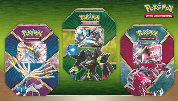 Scatole da collezione Kalos cromatica del GCC Pokémon