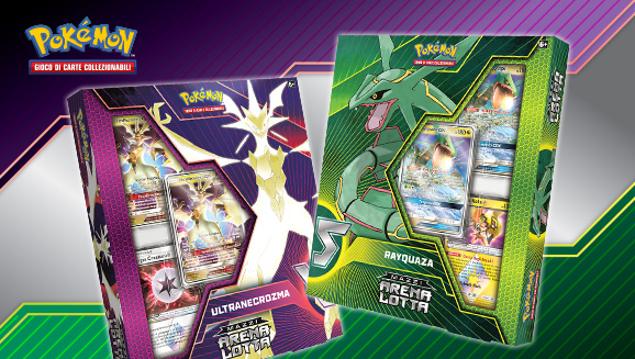 Una lotta tra Pokémon leggendari