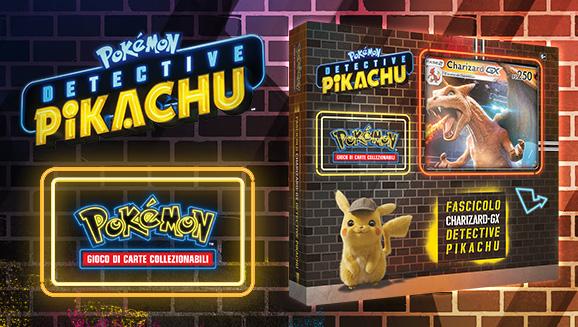 Fascicolo Charizard-<em>GX</em> dell'espansione <em>Detective Pikachu</em>