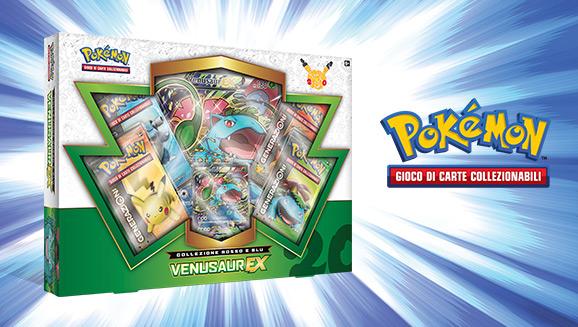 Collezione Rosso e Blu - Venusaur-<em>EX</em> del GCC Pokémon