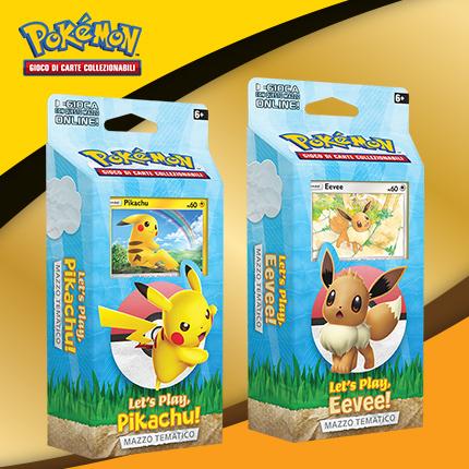 Impara a giocare al GCC Pokémon con Pikachu e Eevee!