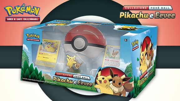 Collezione Poké Ball Pikachu e Eevee