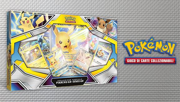 Collezione speciale Pikachu&#8209;<em>GX</em> e Eevee&#8209;<em>GX</em>