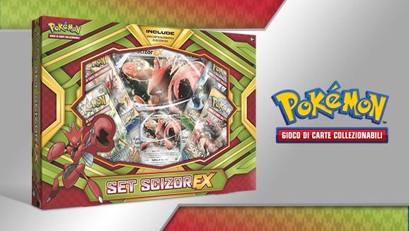 Set Scizor-<em>EX</em> del GCC Pokémon